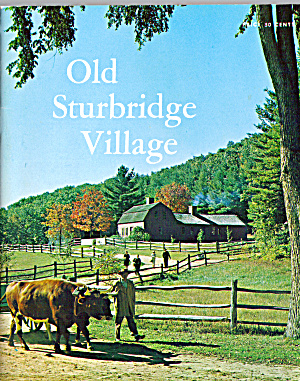 Old Sturbridge Village Massachusetts Booklet bk0184 (Image1)
