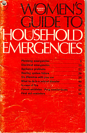 Women's Guide To Household Emergencies Bk0190