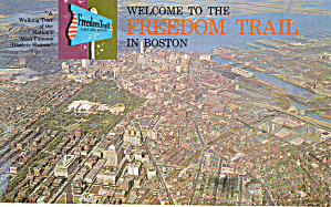 Welcome to the Freedom Trail in Boston MA bk0209 (Image1)