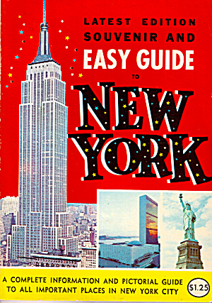 Souvenir and Easy Guide to New York City bk0214 (Image1)