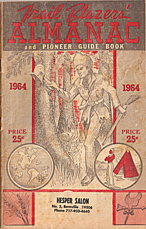 1964 Trail Blazers Almanac and Pioneer Guide Book bk0252 (Image1)