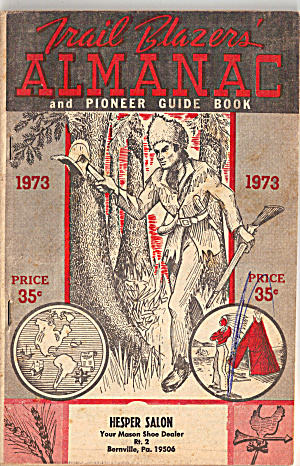 1954 Trail Blazers Almanac And Pioneer Guide Book