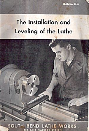 The Installation and Leveling of the Lathe bk0261 (Image1)