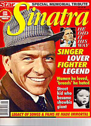 Frank Sinatra Memorial Tribute Star Magazine (Image1)