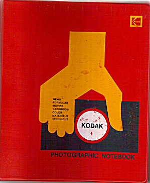Kodak Photgraphic Notebook Bnf0043