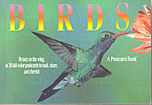 Birds, A Postcard Book
