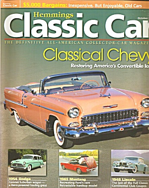 Hemmings Classic Car Classical Chevy Convirtible Icon cc05 10 (Image1)