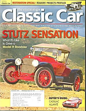 Hemmings Classic Car Stutz Sensation Model H Roadster cc07 11 (Image1)