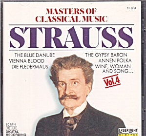 Masters of Classical Music Vol 4 Johann Strauss CD 8 Scores CD0031 (Image1)