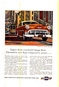 Chevrolet New Two-Ten Sedan Ad Early 1950s (Image1)