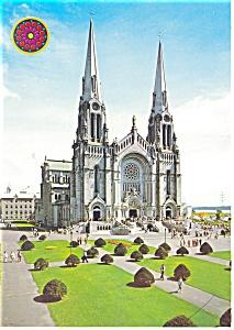 St Anne de Beaupre Basilica  Quebec Postcard cs0008 (Image1)
