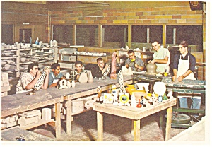 Boys Town, NE, Pottery and Ceramics Postcard (Image1)