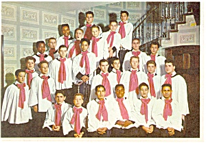 Boys Town, NE, Concert Choir Postcard (Image1)