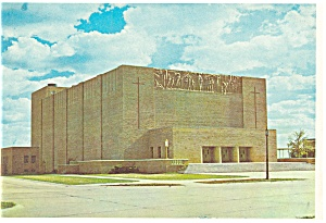 Boys Town, NE, Music Hall Postcard (Image1)