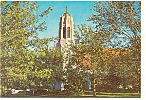 Boys Town, NE, Dowd Memorial Chapel Postcard (Image1)