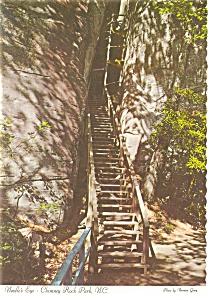 Chimney Rock Park NC Needle s Eye Postcard cs0046 (Image1)