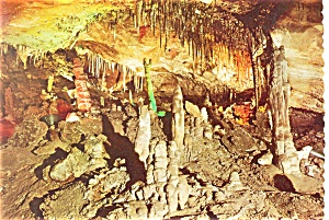 Cave Of The Winds Manitou Springs Co Postcard Cs0051