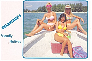 Delaware's Friendly Natives Postcard (Image1)