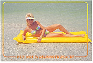 Rehoboth Beach, DE Bathing Beauty Postcard (Image1)