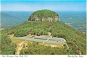 Pilot Mountain State Park NC Postcard cs0097 (Image1)