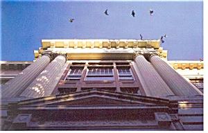 Portland State University  OR Lincoln Hall Postcard cs0105 (Image1)