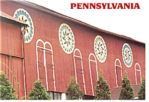 Pennsylvania Hex Signs Postcard Cs0110