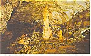 Centre Hall, PA ,Penn's Cave,Statue of Liberty Postcard (Image1)