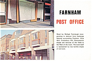 Farnham Post Office Postcard