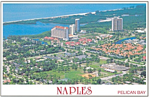 Pelican Bay Naples FL Postcard cs0128 (Image1)