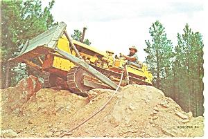 Crazy Horse Mountain Memorial SD Postcard cs0144 (Image1)