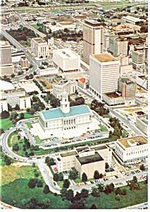 Downtown Nashville TN Postcard cs0167 (Image1)