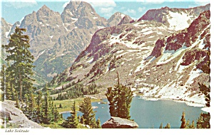 Lake Solitude,Grand Teton Park, WY Postcard (Image1)
