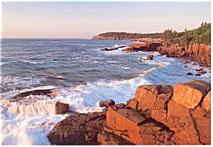 Newport Cave, Arcadia National Park, Maine Postcard (Image1)