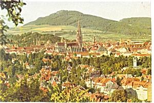 Freiburg im Breisgau Germany Postcard cs0231 (Image1)
