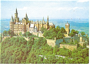 Castle on Burg Hohenzollern, Germany Postcard (Image1)