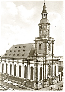 Reformationkirche Worms Germany Postcard cs0237 (Image1)