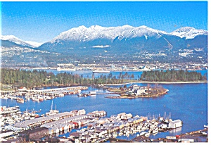 Coal Harbour,Vancouver, BC, Canada Postcard (Image1)