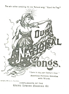 Our National Songs White Sewing Machine Co cs0281 (Image1)