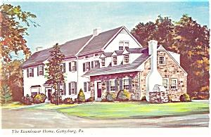 Gettysburg PA Eisenhower Home Postcard cs0359 (Image1)