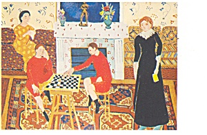 The Painter s Family Postcard cs0365 (Image1)