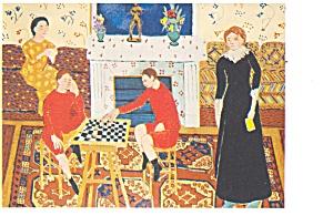 The Painter s Family Postcard cs0365 (Image1)