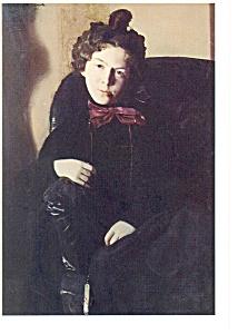 Portrait of Anna Petrovna Ostroumova Postcard cs0367 (Image1)