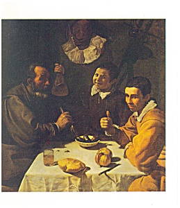 The Repast Velazquez Postcard cs0370 (Image1)