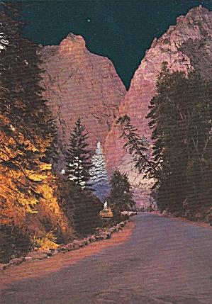 South Cheyenne Canon Canyon Colorado Pillars of Hercules Postcards CS13038 (Image1)