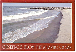 Beautiful Atlantic Ocean Postcard Cs0423