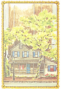 Savannah GA The Pirate s House Postcard cs0428 (Image1)