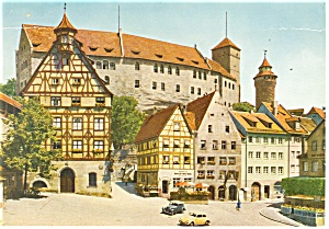 Nurnberg,Germany View towards the Castle Postcard (Image1)
