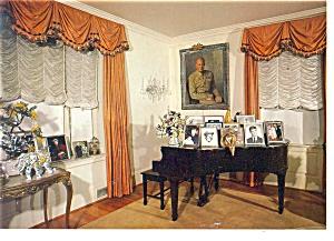 Gettysburg PA Eisenhower Living Room Postcard cs0479 (Image1)