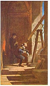 Der Sterngucker by Carl Spitzweg Postcard (Image1)