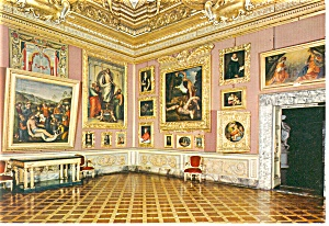 Florence,Italy, The Pitti Palace Palatine Gallery Postc (Image1)
